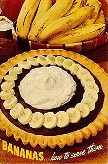 Bananas...how to Serve Them