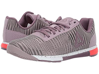 Reebok Speed TR Flexweave (Lilac Fog/Noble Orchid/White/Neon Red) Women