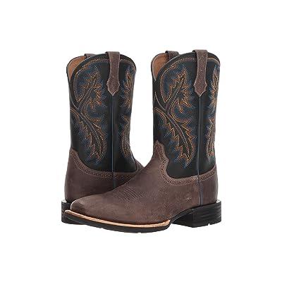Ariat Quickdraw West (Grey/Tack Room Black) Cowboy Boots