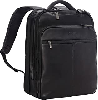 Kenneth Cole Reaction Back-Stage Access Slim Colombian Leather TSA Checkpoint-Friendly 16