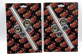 2 x New Vito's Upper a-arm Bushing + caps kit Yamaha Banshee Raptor 700 YFZ450