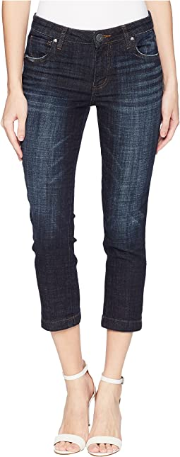 KUT from the Kloth Lauren Crop Straight Leg with Wide in Cultivated