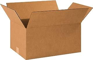 Aviditi 18129 Single-Wall Corrugated Box, 18-1/2