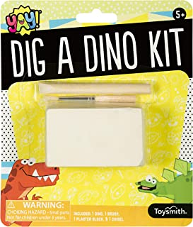 Toysmith Dig A Dino Kit, Fun Size, Easy DIY Project, Styles and Colors May Vary