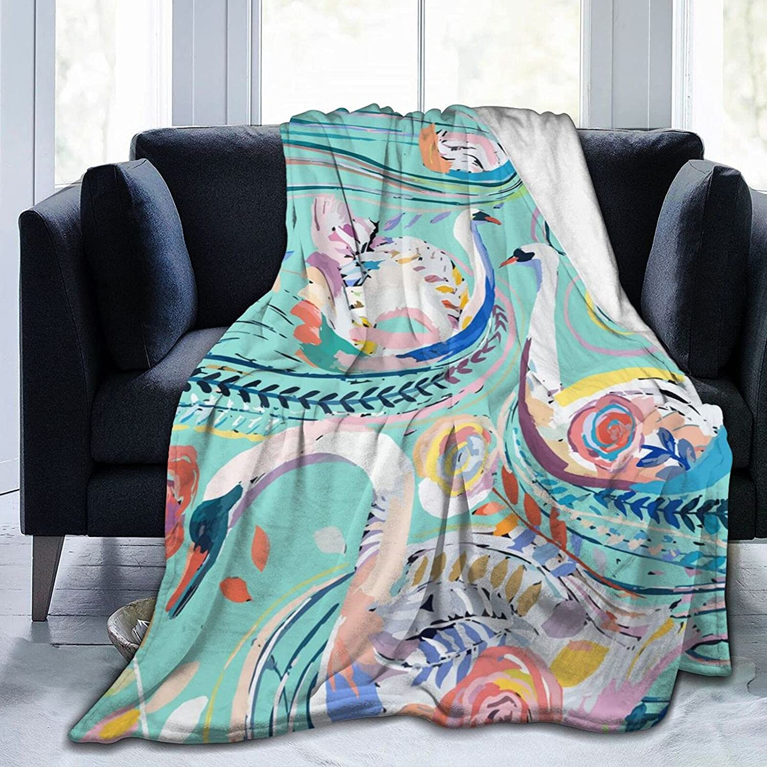 Super sale period limited Swans Sherpa 2021 autumn and winter new Blanket Soft 80