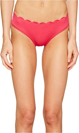 Core Solids #79 Scalloped Hipster Bikini Bottom