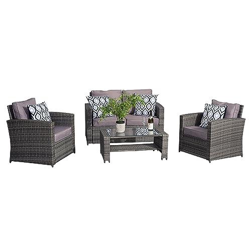 Groovy Rattan Patio Furniture Amazon Co Uk Download Free Architecture Designs Parabritishbridgeorg