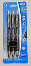 Inc. Forma Retractable Pens - 1.0mm Blue Ink - (3 Pens Included)