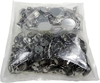 Sunshine 25mm Blank Badges & Buttons Parts for Badge & Button Making Machine (Holland-Pin Metal-Back 500sets)