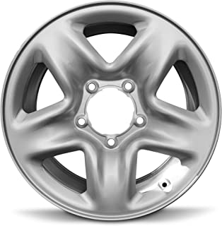Road Ready Car Wheel For 2007-2019 Toyota Tundra 18 Inch 5 Lug Silver Steel Rim Fits R18 Tire - Exact OEM Replacement - Full-Size Spare