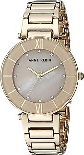 Anne Klein - Reloj de pulsera para mujer con cristales Swarovski