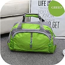 Fortune-god Sports Gym Bag,Nylon Waterproof Gym Fitness Training Shoulder Yoga Bag Luggage,Green