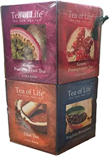 Tea of Life the New Age Tea 96 Bag Collection Gift Pack