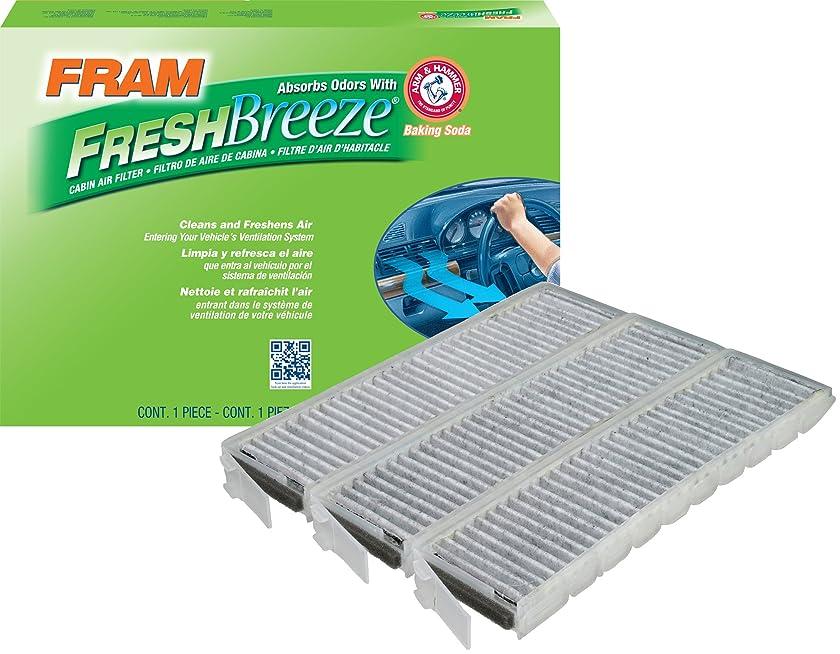 FRAM FCF8391A Fresh Breeze Cabin Air Filter with Arm & Hammer