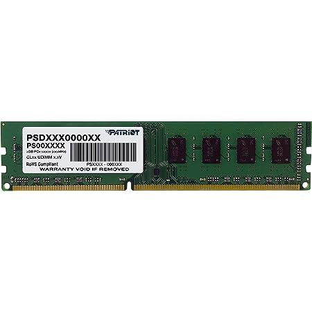 Patriot Memory Serie Signature Memoria singola DDR3 1600 MHz PC3-12800 4GB (1x4GB) C11 - PSD34G160081