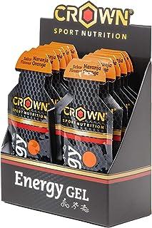 comprar comparacion Crown Sport Nutrition Gel Energético - con o sin Cafeína - 10 unidades Carbohidratos en ratio 2:1:1 (Maltodextrina - Dextr...