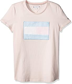 TOMMY HILFIGER Kids Pure Cotton Flag T-Shirt