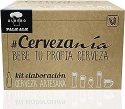 #Cervezanía - Kit de elaboración de cerveza rubia Pale Ale   5 litros cerveza en casa   Lúpulos frescos