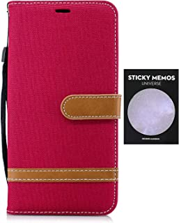 iPhone 8 plus ケース 8p 対応 本革 レザー手帳型スマホケース カバー 財布型 機能 耐摩擦 耐汚れ カードポケット 全面保護 人気 [無料付箋付き]