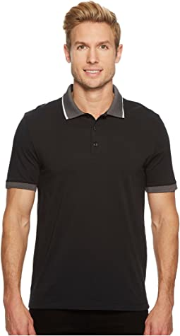 Tipped Collar Pima Cotton Polo