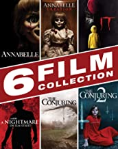 Halloween Movie Bundle: Annabelle, Annabelle: Creation, A Nightmare on Elm Street, IT, The Conjuring 1-2
