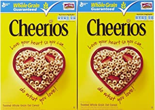 Cheerios Whole Grain Toasted Oats Cereal - 12 oz. (Pack of 2)