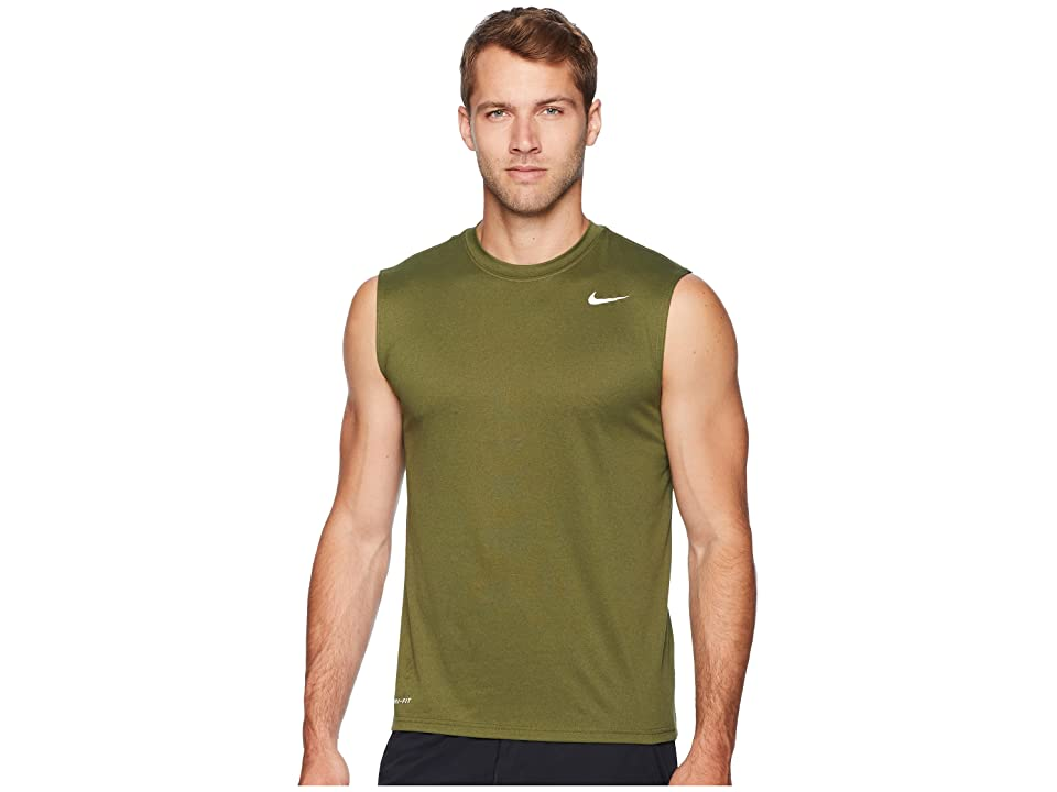 Nike Legend 2.0 Sleeveless Tee (Olive Canvas) Men