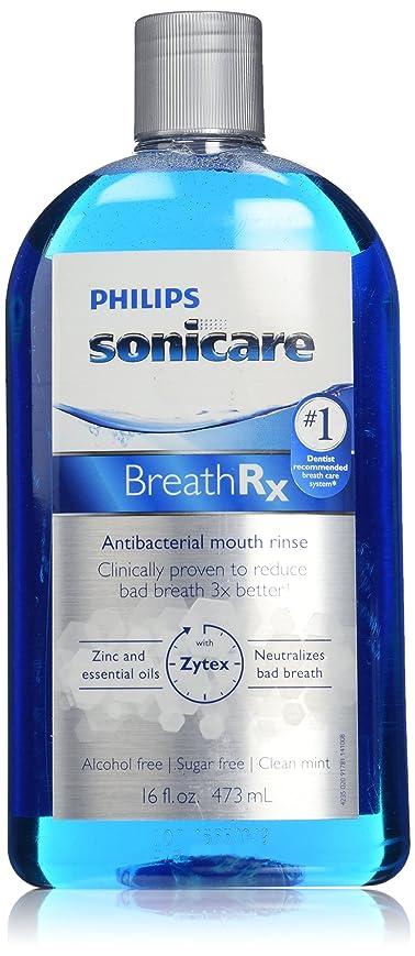 テンションベンチャー精神的にPhilips Sonicare Breathrx Antibacterial Mouth Rinse by Philips Sonicare [並行輸入品]