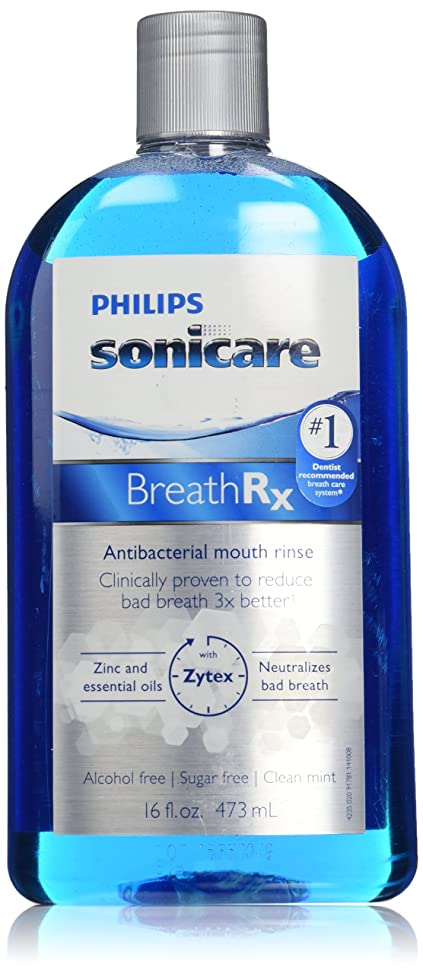 Philips Sonicare Breathrx Antibacterial Mouth Rinse
