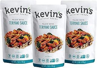 Kevin's Natural Foods Teriyaki Sauce – Keto and Paleo Simmer Sauce –..