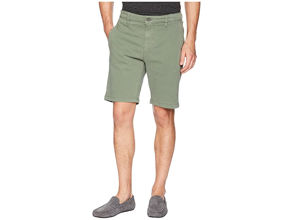Image of 34 Heritage Nevada Shorts in Moss Twill (Moss Twill) Men's Shorts