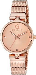 Giordano Analog Rose Gold Dial Women's Watch- A2058-44