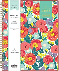 Day Designer for Blue Sky 2021-2022 Academic Year Weekly & Monthly Planner, 8.5