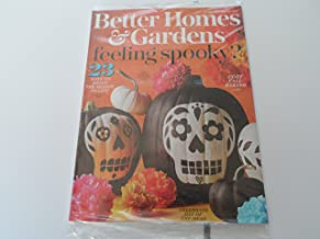 Better Homes & Gardens October 2017 Feeling Spooky - 23 Ways to Bring the Season To Life