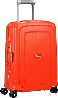 Samsonite S'Cure - Spinner S Bagage Cabine, 55 cm, 34 L, Rouge (Fluo Red Capri)