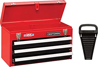 CRAFTSMAN Tool Box, 3 Drawer, Lockable, Red (CMST82762RB)