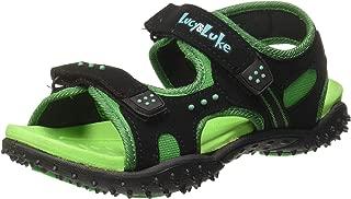 Lucy & Luke (from Liberty) Boy's Habana Green Sneakers-2 UK/India (34 EU) (8074057140340)