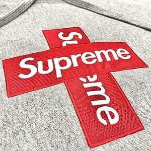 SUPREME 20FW Cross Box Logo Hooded Sweatshirt シュプリーム クロス ボックスロゴ フーディー スウェット パーカー グレー
