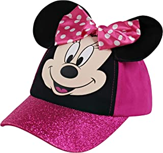 Disney Minnie Mouse Kids Hat, Toddler or Little Girls Baseball Cap Ages 2-8