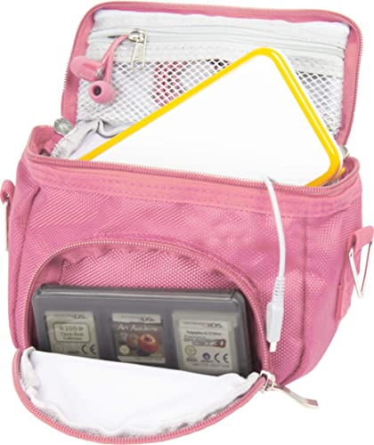 Orzly Travel Bag for Nintendo DS Consoles (New 2DS XL / 3DS / 3DS XL/New 3DS / New 3DS XL/Original DS/DS Lite/DSi/etc...