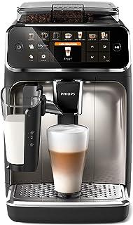 Philips Helautomatiska espressomaskiner Serie 5400, 12 utsökta kaffevarianter, LatteGo mjölksystem, Pekskärm med färg, Enk...