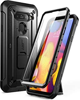 SUPCASE Full-Body Protective Case for LG V40, LG V40 ThinQ, with Built-in Screen Protector Kickstand &Holster Clip Design ...