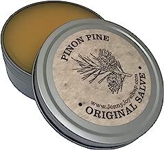 Pinon Pine Drawing Salve 4 oz Natural Antibacterial Healing Balm of Southwest. Uses: Minor Burns, Psoriasis, Eczema, Beard, Drawing Salve, Infections, Dry Skin from Arizona by Jenny Joy's Soap