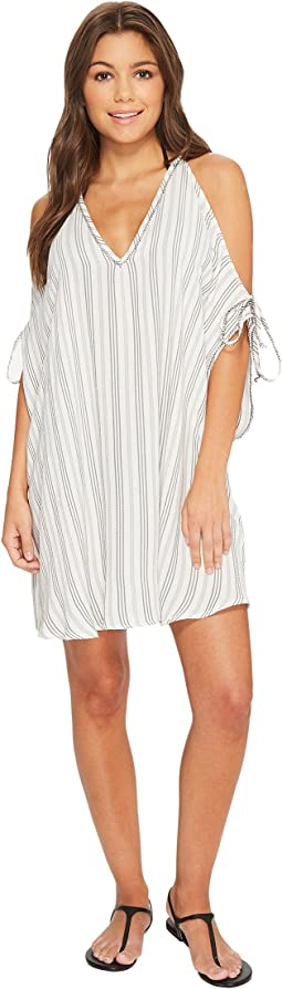 Robin Piccone - Norah V-Neck Open Shoulder Tunic Cover-Up