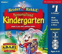 reader rabbit kindergarten cd rom