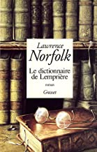 Le dictionnaire de Lemprière (Littérature) (French Edition)