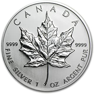2005 CA Canada 1 oz Silver Maple Leaf BU 1 OZ Brilliant Uncirculated