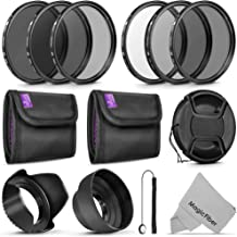 67MM Altura Photo UV CPL ND4 Lens Filters Kit and Altura Photo ND Neutral Density Filter Set. Photography Accessories Bundle for Canon and Nikon Lenses with a 67MM Filter Size