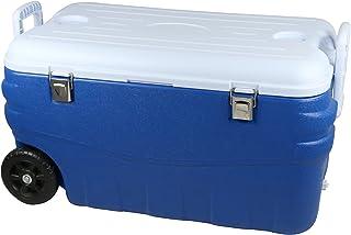 Cao 464Nevera portátil Unisex, Azul/Blanco