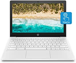 HP Chromebook 11-inch Laptop - MediaTek - MT8183 - 4 GB RAM - 32 GB eMMC Storage - 11.6-inch HD IPS Touchscreen - with Chr...